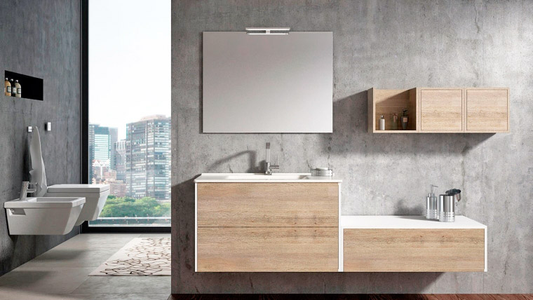 Reformas de ba os muebles de ba o en mostoles madrid - Conforama muebles de bano ...