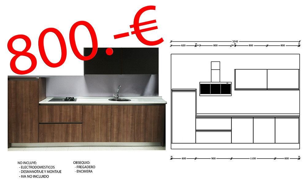 ofertas en muebles de cocina por liquidacion en mostoles