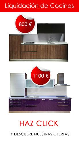 Reformas de cocinas. Muebles de cocina en Mostoles, Madrid.